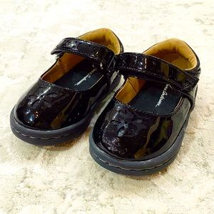 """Black Patent Leather """"Jillie"""" Mary Jane Shoes"""